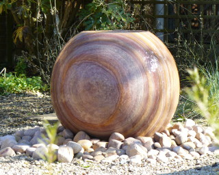 Bliss 75 Sphere Sandstone Water Feature Rainbow