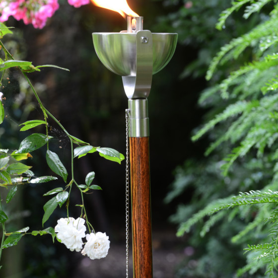 Capella Outdoor Burner with Full Length Pole