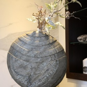 Caviara Natural Slate Sculpture