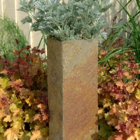 Surmi Rectangle Natural Slate External Planters / Plinths