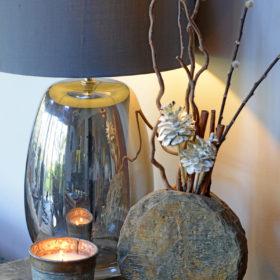 Basa Natural Slate Vase