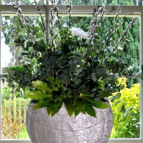Ikra Natural Slate Vase Small