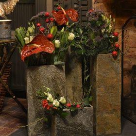 Set of 3 Surmi Slate Vases – Bundle One PRE-ORDER for Delivery Summer 2020