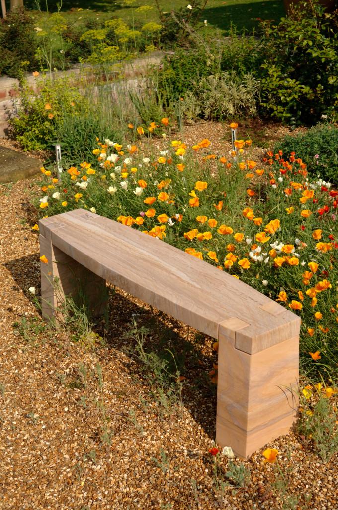 Rossco Sandstone Dovetail bench