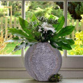 Abalone Slate Vase