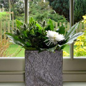 Surmi Small Slate Vase – 22cm