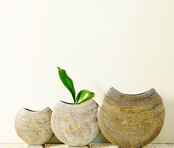 Ikra Slate Vase Hand Carved Natural Slate Vases From Foras