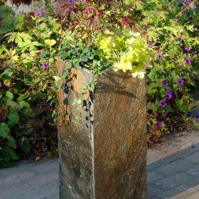 Surmi Natural Slate Plinth Planter – 60cm