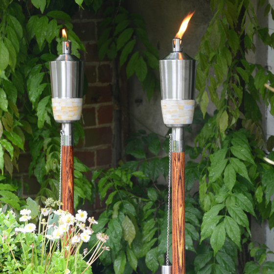 Set of 2 Mira Burners with a FREE Orwell Lantern worth £32.00