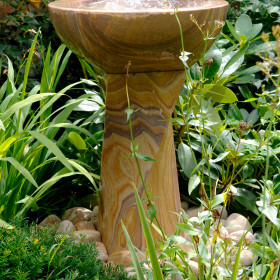 Twist Rainbow Sandstone Water Feature and Kit