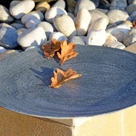 Slate Flight Bird Bath / Bowl