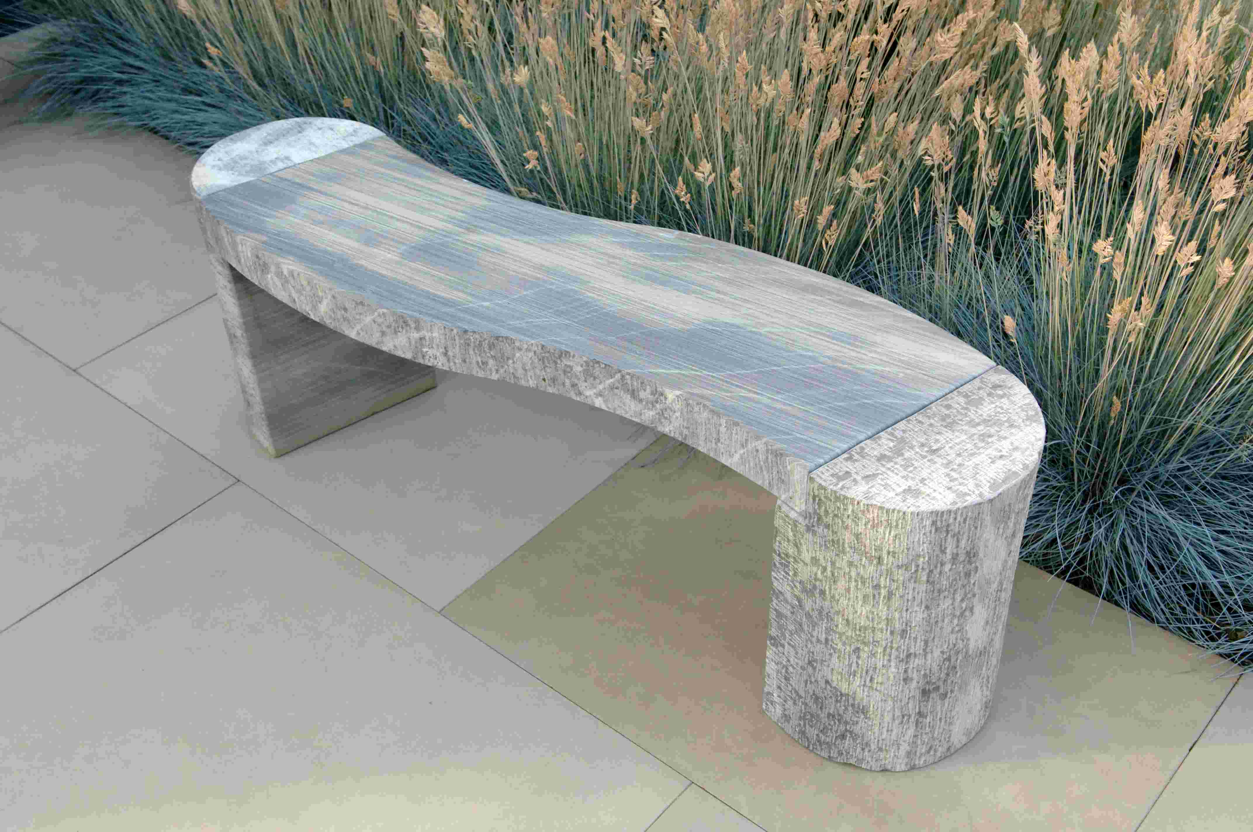 meko benchmark furniture from b by en waiting benches curved product bench area