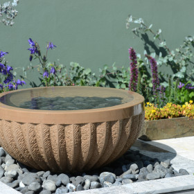 Pure Allium Beige Water Feature and Kit