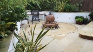 Bliss Self Contained Sandstone Water Feature