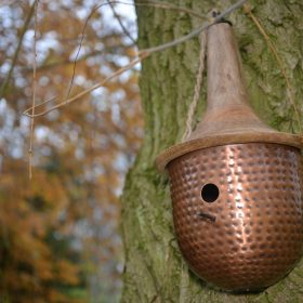 Colby Bird House Copper