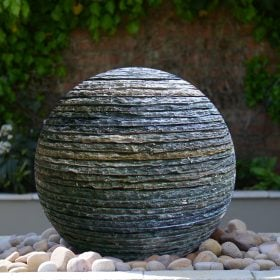 NEW FOR 2018! Belmont Layered Slate Water Feature and Kit