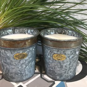 Croxton Candle Lime Basil & Mandarin – Set of Two