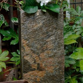 Surmi 45cm Rectangle Natural Slate Vase / Planter