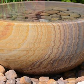 Pure 75cm Rainbow Sandstone Planter