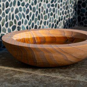 Acorn Rainbow Sandstone Birdbath – Bowl Only