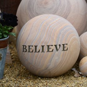 Belmont 30cm Philosophy Water Feature and Kit – Believe