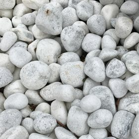 White Quartzite Pebbles