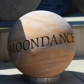 Engraved 40cm Philosophy Sphere – Moondance