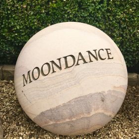 Engraved Sphere – Moondance (40cm)