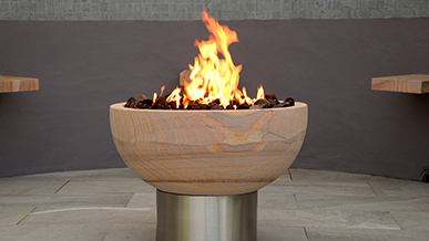 Pure Rainbow Fire Pit