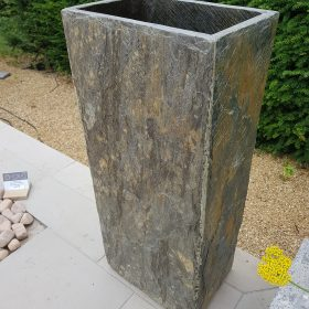 Surmi Rectangle Natural Slate External Planter / Plinth