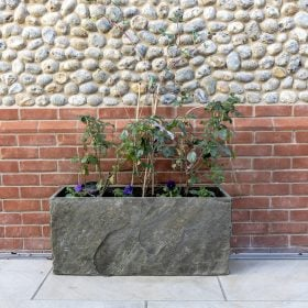 Surmi Large Natural Slate Trough