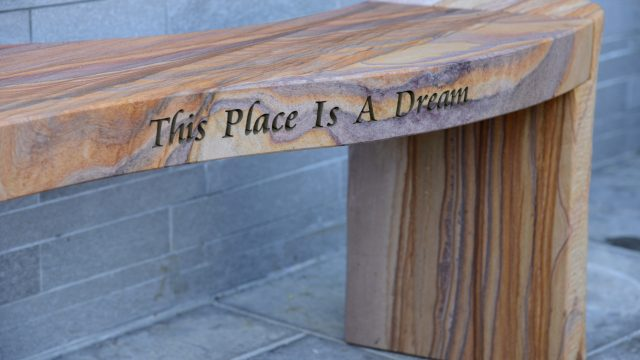 Philosophy & Bespoke Engraved Benches