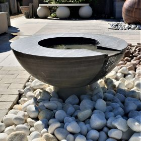 Mortar Shark 70cm Pebble Pool Water Sculpture Kit