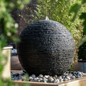 Belmont Layered Slate 100cm Water Feature with Kit