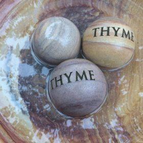 "Philosophy Engraved Herb Sphere ""Thyme"""