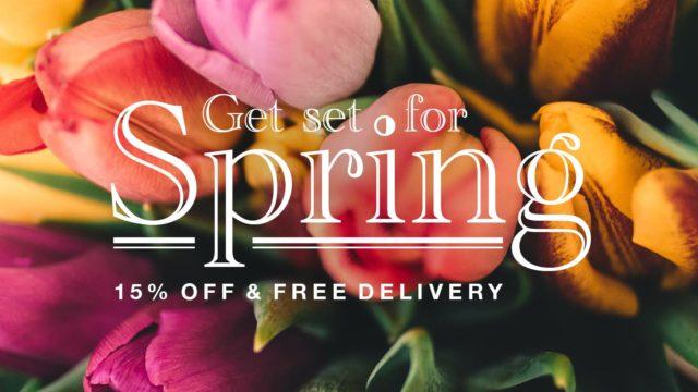 Get Set for Spring