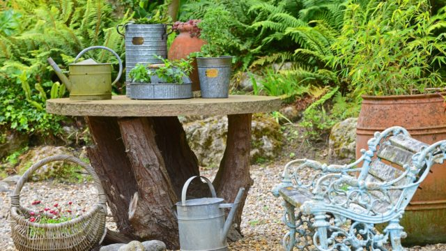 NEW Vintage Copper Beech Planter